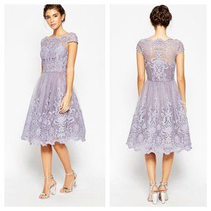 Chi Chi London Nia Lace Dress NWT